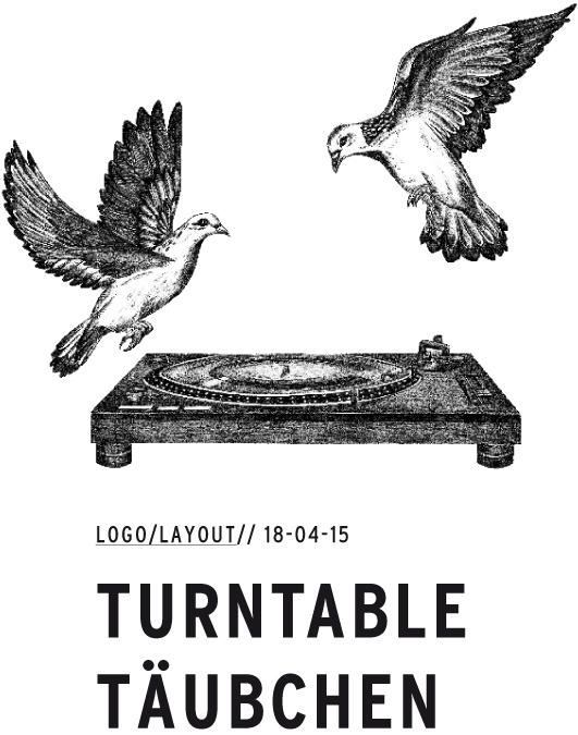 Turntabletäubchen