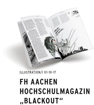 FH Aachen Dimensionen / Blackout
