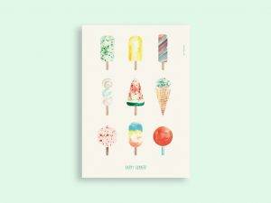 Plakat | Happy summer