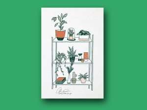 Plakat | Botanical living