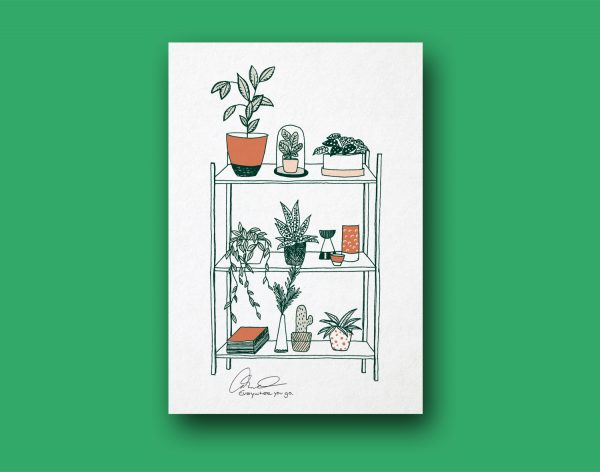 Plakat | Botanical living