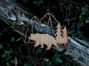 Bär | Eichenholz