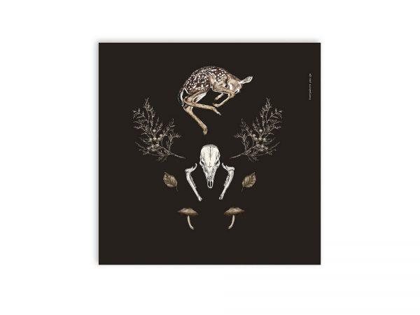Waldcollage | Poster 30 x 30cm