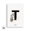 Tier ABC | Postkarte | A