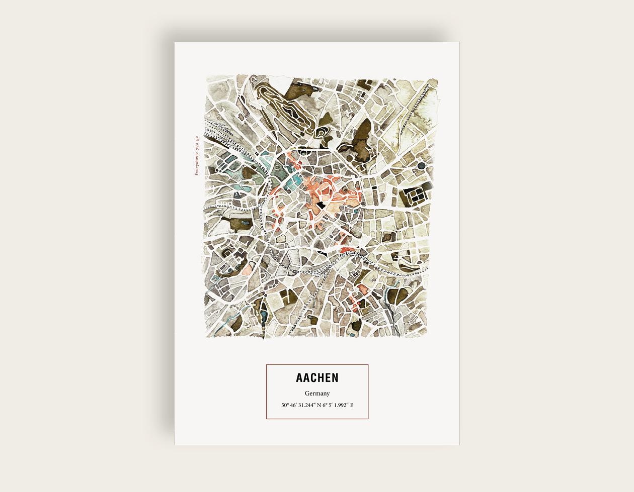 Maps_Aachen_etsy
