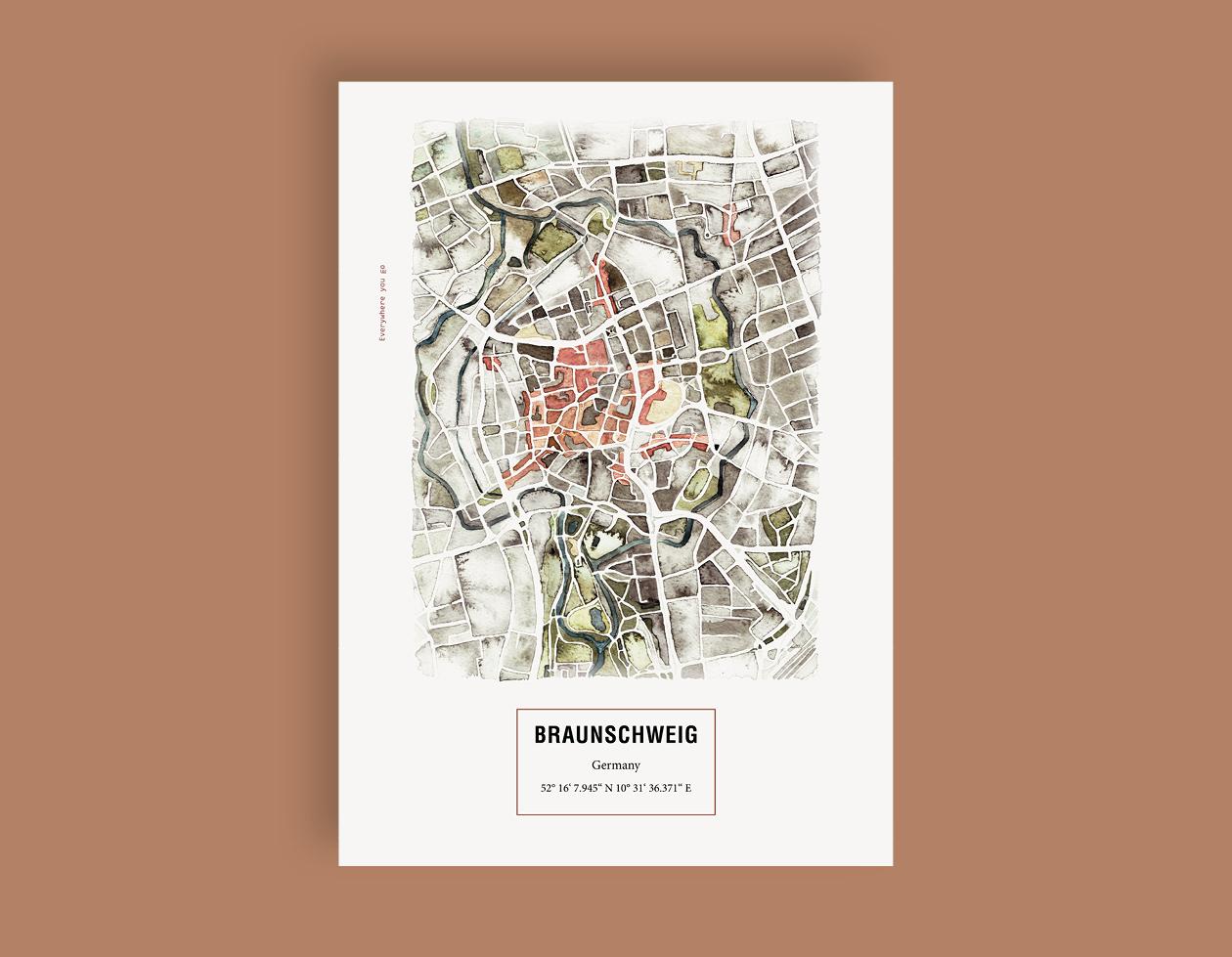Maps_Braunschweig_etsy