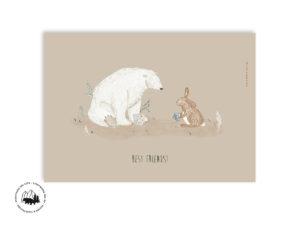 Best friends | A4 Plakat