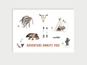 Stay wild | Postkarte