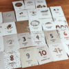 Mein erstes Jahr | 26 Babymeilensteinkarten