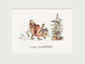 Merry Christmas   Postkarte