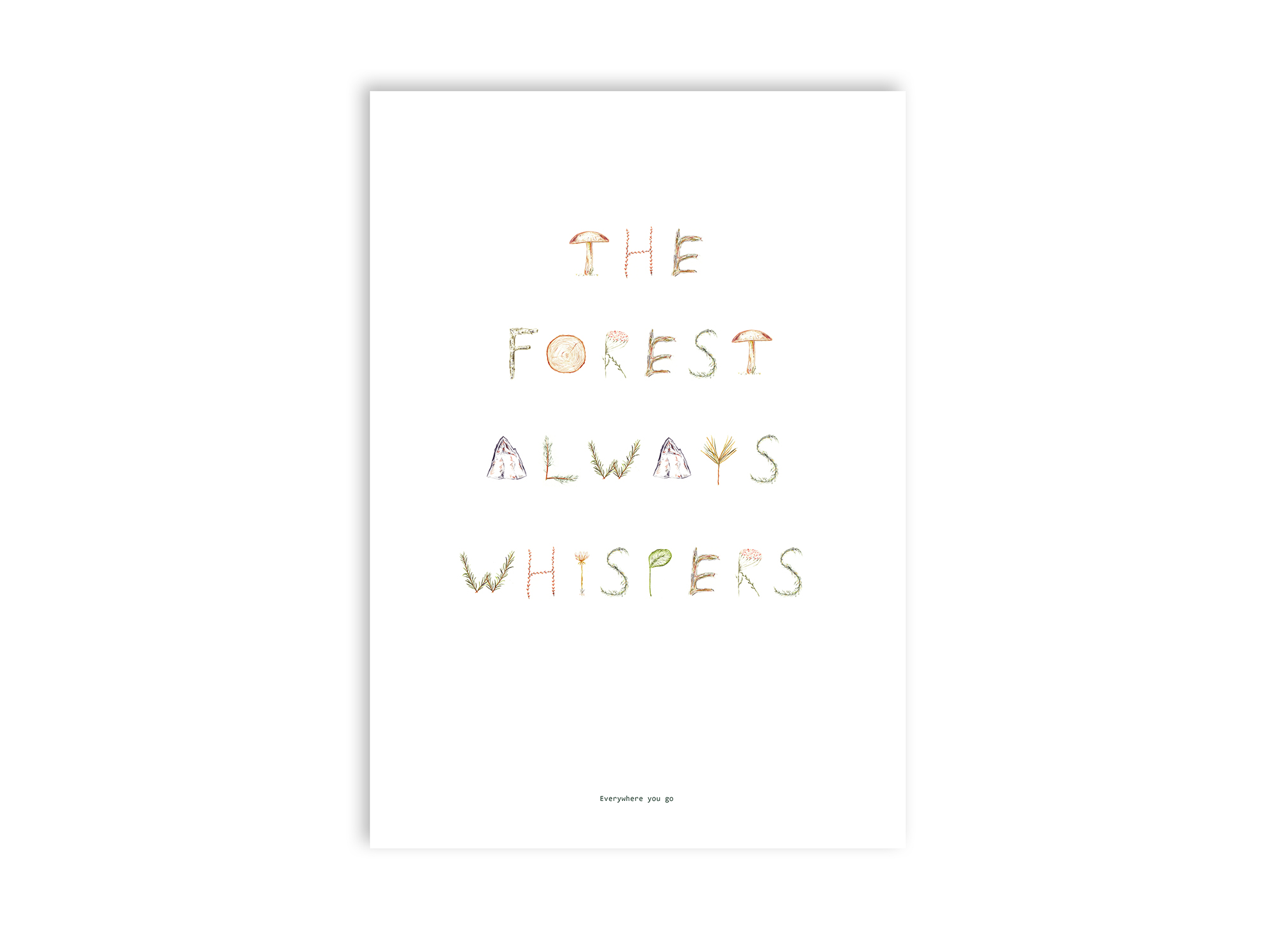 Wald_Theforestalwayswhispers
